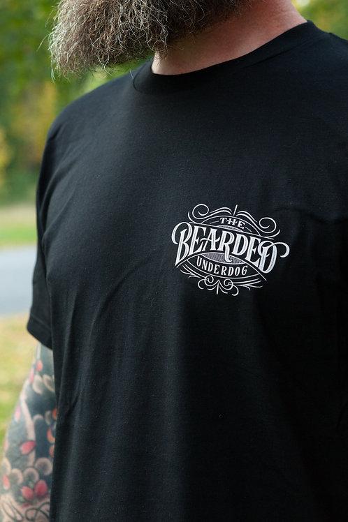 The Bearded Underdog T-shirt, Black