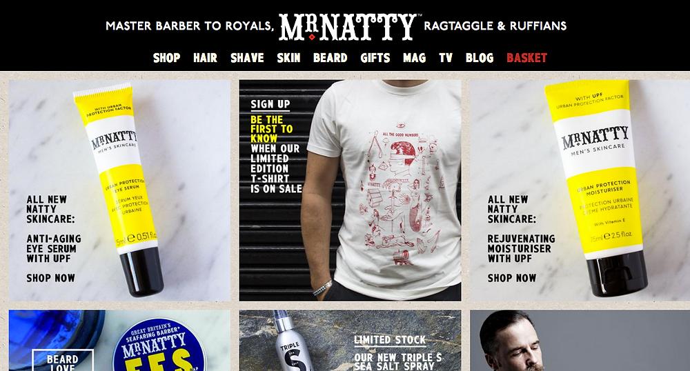 Mr Natty Homepage