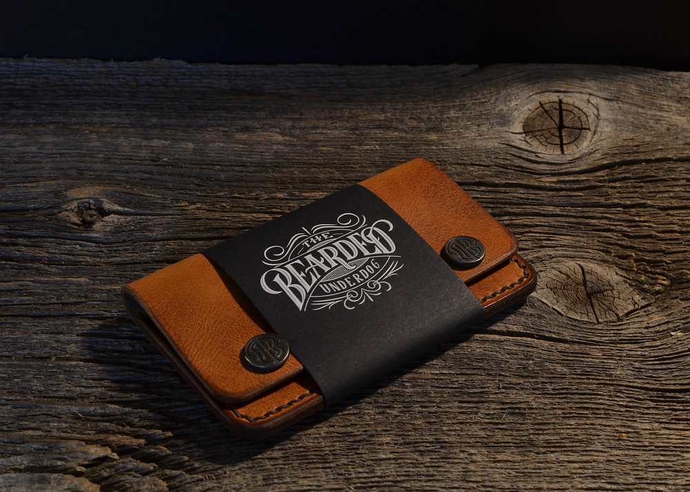 The Bearded Underdog London Wallet Horween Leather