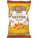 Beanitos cheetos Mac and Cheese crunch