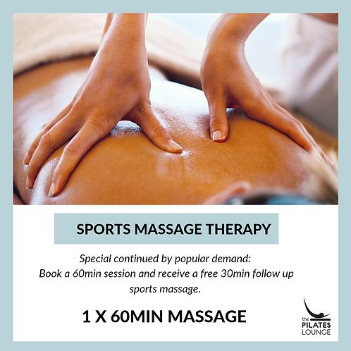 60 min Sports  Massage