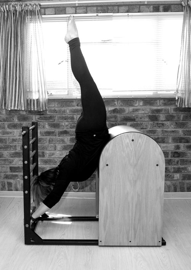Ladder baller Pilates