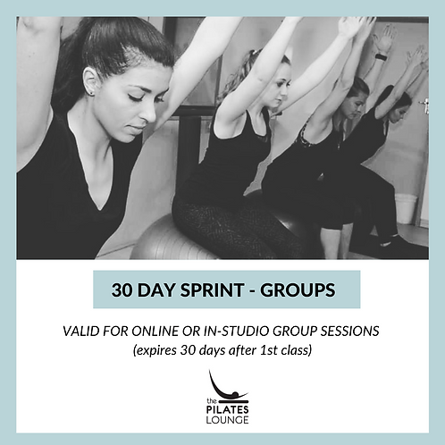 30 day sprint - groups