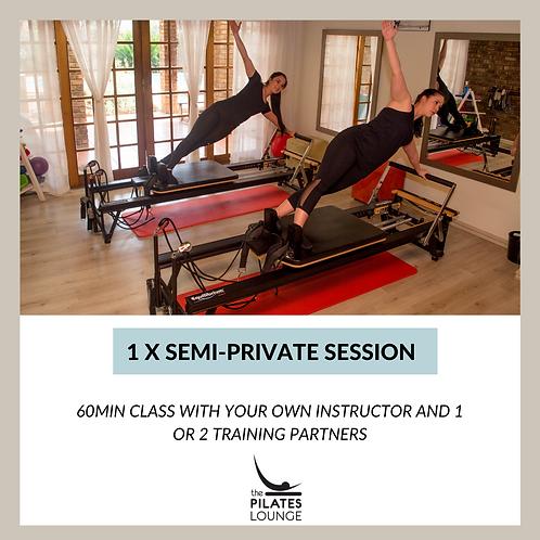 1 x Semi-Private Session