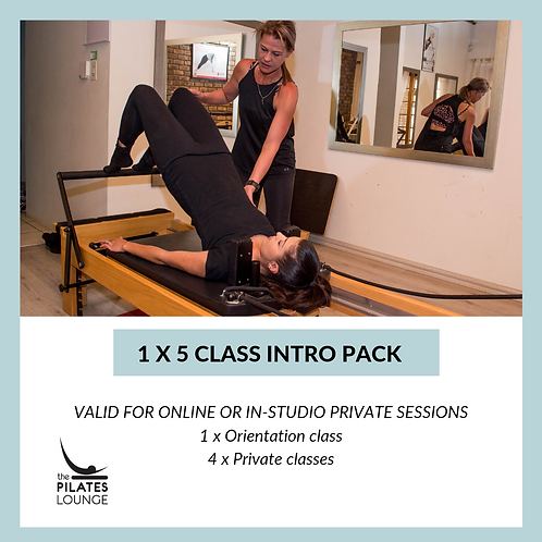 5 class intro pack