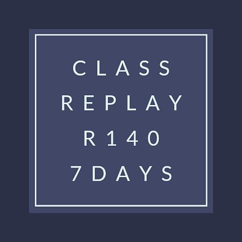 Class replay
