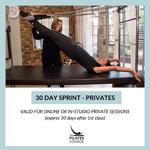 30 Day Sprint - Private Class