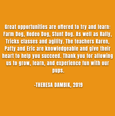 Theresa Dambik, 2019