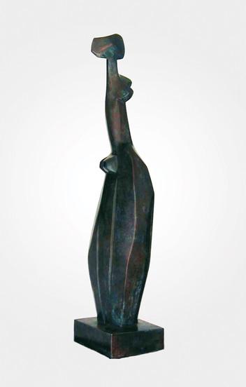 Mujer de Pie con Ropaje, 1998