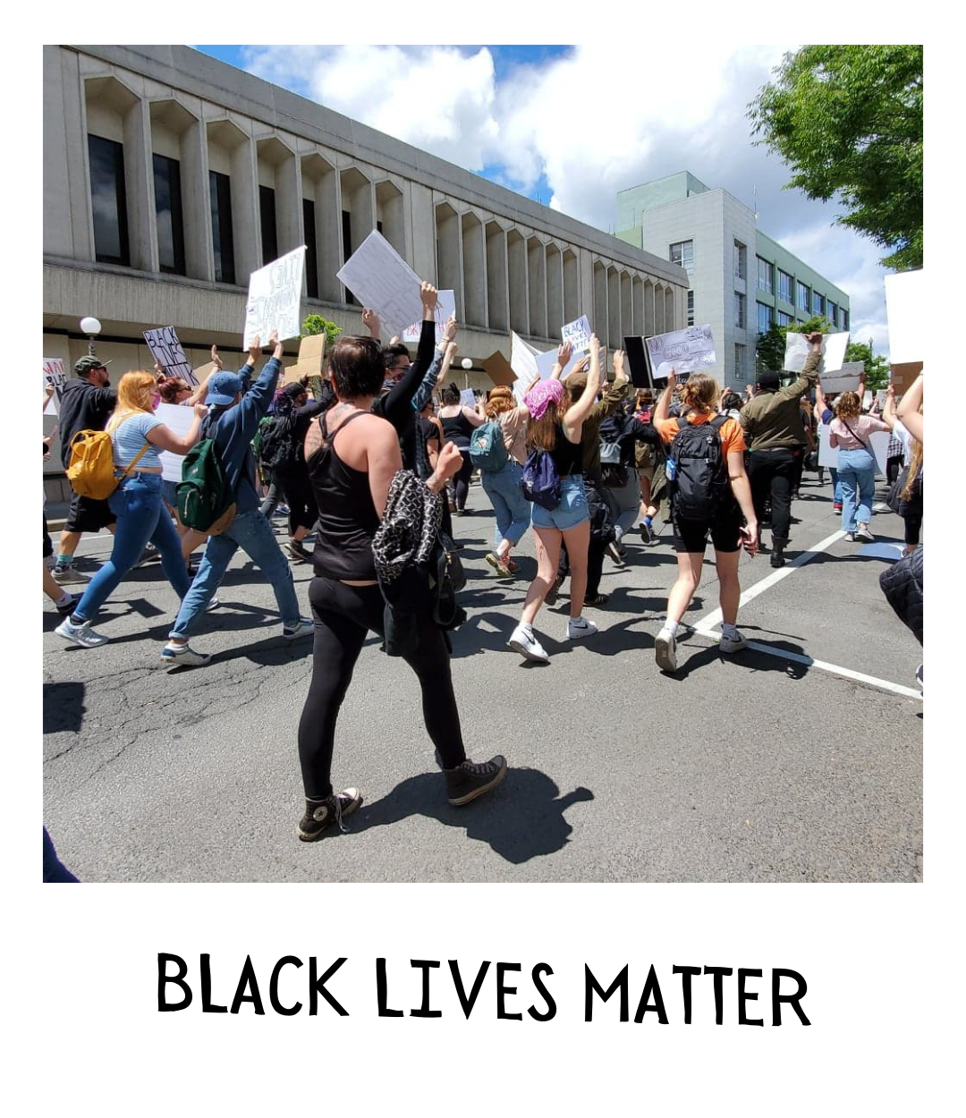 We are a Black-led organization. Our leaders' lives matter.