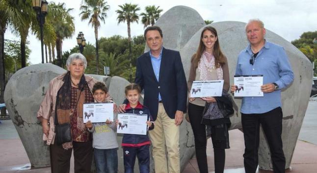 Elena Laverón cede tres de sus esculturas a Torremolinos