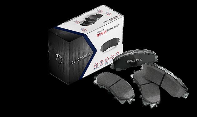 Ecobrex Metallic Brake Pads