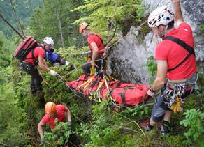 Einsatzrekord für die Bergrettung OÖ