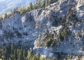 Kletterer in Not - Ewige Wand