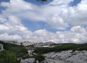 14-jährige Wanderin nach 20 Meter Sturz in Doline erfolgreich geborgen!