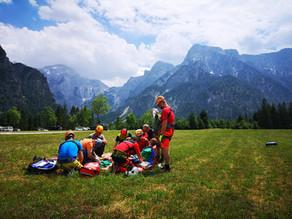 Alpineinsatz | Grünau im Almtal - Zwölferkogel Nordkante (Kletterroute)