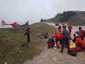 Mountainbiker nach Sturz am Feuerkogel in Ebensee geborgen