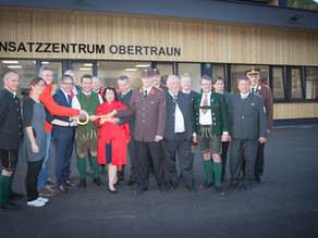 Einsatzzentrum Bergrettung Obertraun eröffnet