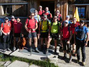 Sommerübung BRD Bad Goisern am Wiesberghaus