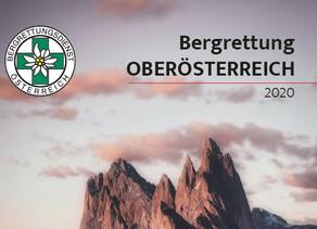 Einsatzbericht der Bergrettung Oberösterreich für 2019 und Ziele 2020