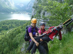 Bergretterin aus Obertraun