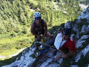 Sommerübung der Bergrettung Ebensee