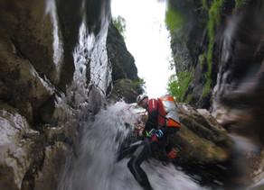 Canyoning Fortbildung Burggrabenklamm