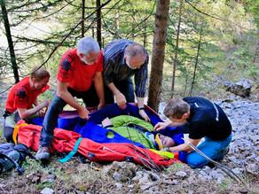 Gemeinsame Erste Hilfe Übung der Ortsstellen Vorderstoder & Windischgarsten