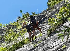 Kletterer bei Absturz in der Ewigen Wand verletzt