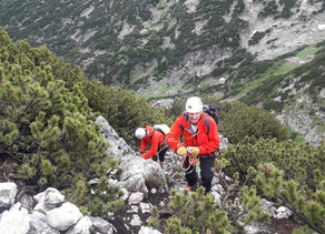 Gewitter Krippenstein Klettersteig