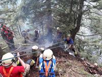 Waldbrandbekämpfung am Brenntenkogel
