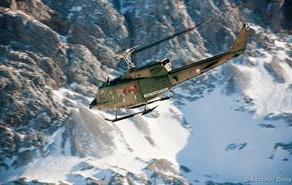 Hubschrauberfortbildung der Bergrettung Oberösterreich