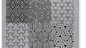 STAMPING PLATE 06 GEOMETIC Item No. 118608
