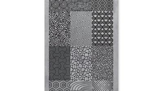 STAMPING PLATE 01 ABSTRACT Item No. 118600