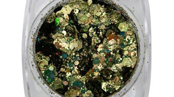 METAL INLAY GREEN GOLD Item No. 118938