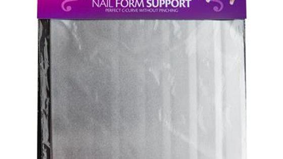 ALUMINIUM NAIL FORM SUPPORT 4 SHEETS Item No. 177010