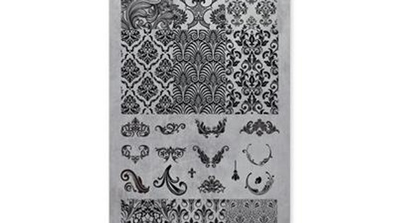 STAMPING PLATE 04 BAROQUE Item No. 118603