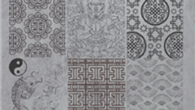 STAMPING PLATE 08 ASIAN STYLE Item No. 118611