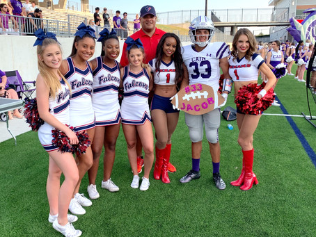 Cheer Squads in Katy Recognize Childhood Cancer Awareness Month