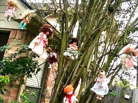 Katy Home Delivers Halloween Frights with Over 100 Spooky Dolls