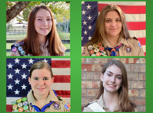 Katy Welcomes First Female Eagle Scouts