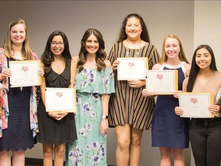 Katy Area Retired Educators Award Katy ISD Seniors with Scholarships