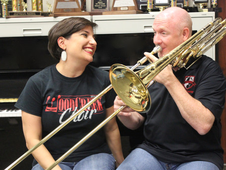 Married to Music: Husband and Wife Music Teachers at WoodCreek Junior High
