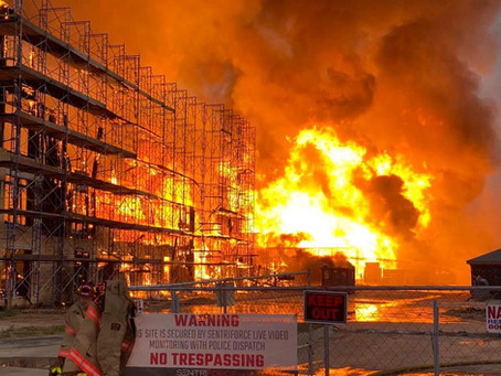 3-Alarm Fire in Katy Destroys Apartment Complex Construction Site