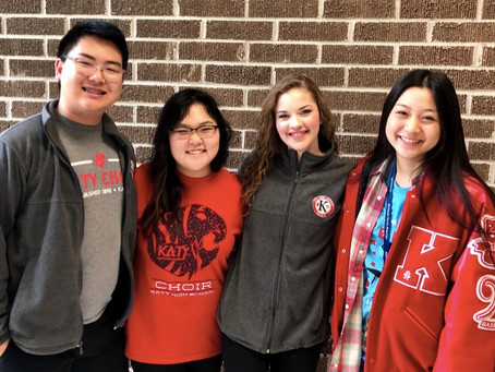 Elite High School Students from Katy Selected to All-State Choir