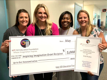 Katy ISD Teachers Awarded More Than $333K in Grants this School Year