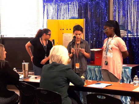 Katy Sixth Graders Step Into 'Shark Tank' with Prominent Community Judges