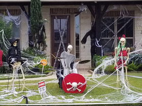 2020 Katy Halloween Drive-by Home Tour Part 2