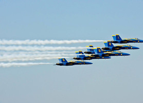 Katy Residents to See Blue Angels and Historic Warbirds in Flyovers