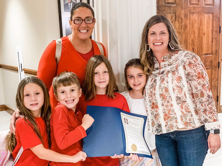 City of Katy Proclaims October National Dyslexia Awareness Month